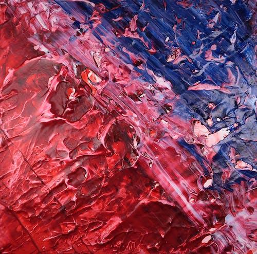 Δωρεάν στοκ φωτογραφιών με artsy, backgound, ακρυλική ζωγραφική, ακρυλική μπογιά
