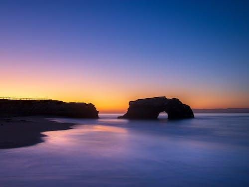 Immagine gratuita di acqua, alba, california, cielo