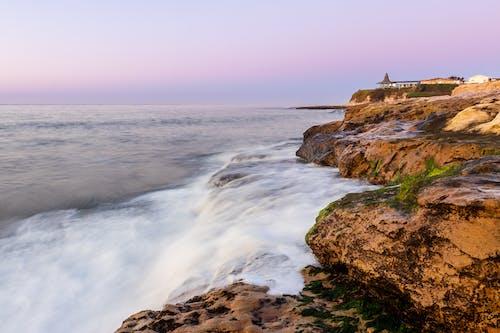 Immagine gratuita di acqua, alba, california, costa