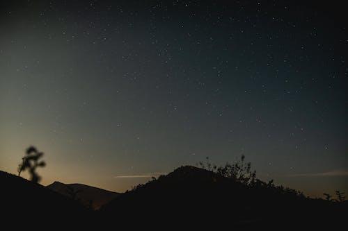 Foto d'estoc gratuïta de bell cel, cel nocturn, estrelles, exposició llarga