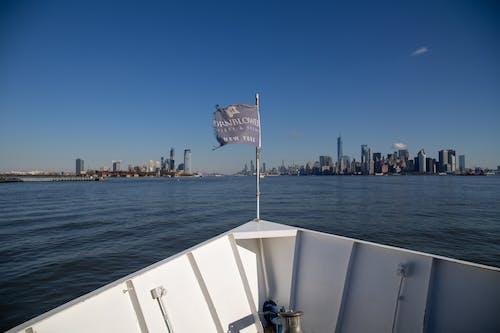 Immagine gratuita di crociera, new york, skyline