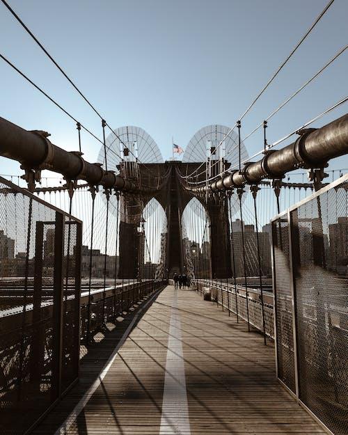 Immagine gratuita di brooklyn, ponte di brooklyn