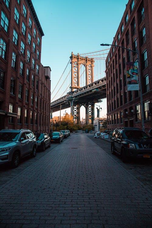 Immagine gratuita di dumbo, ponte di brooklyn