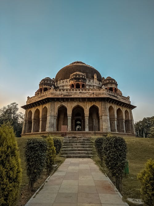 Low Angle Photography Of The Tomb In Lodi Gardens