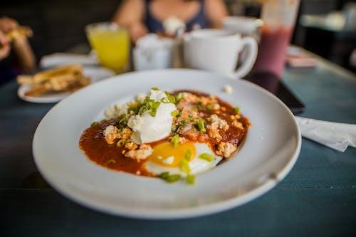 Darmowe zdjęcie z galerii z danie, fotografia kulinarna, jajko, jedzenie