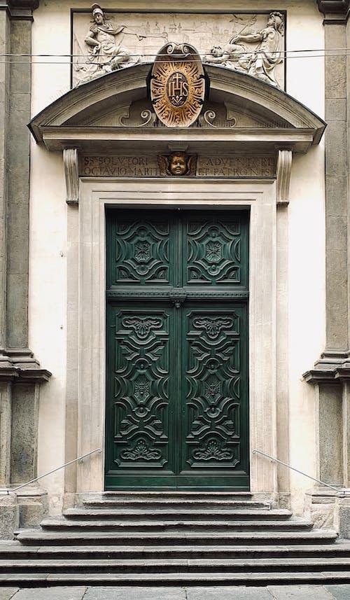 Gratis arkivbilde med architettura, arkitektur, chiesa, grønn