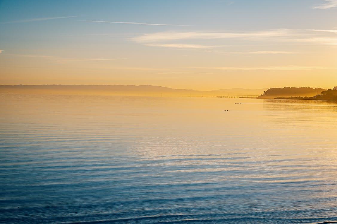 H2O, вода, Захід сонця