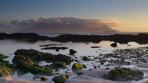Photos gratuites de baie de table, crépuscule, grande baie, Le Cap