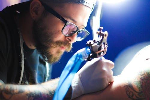 Free stock photo of #tattoo #art #draw