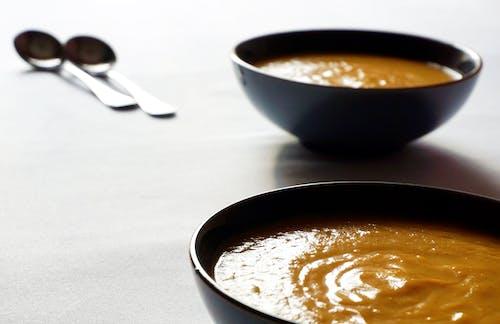 健康食品, 南瓜湯, 吃得健康, 家常菜 的 免費圖庫相片