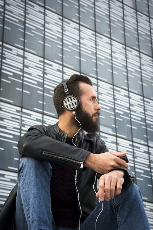 Photos gratuites de audio, casque, homme, individu
