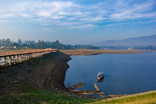 Free stock photo of bridge, lake, landscape, landscape photography