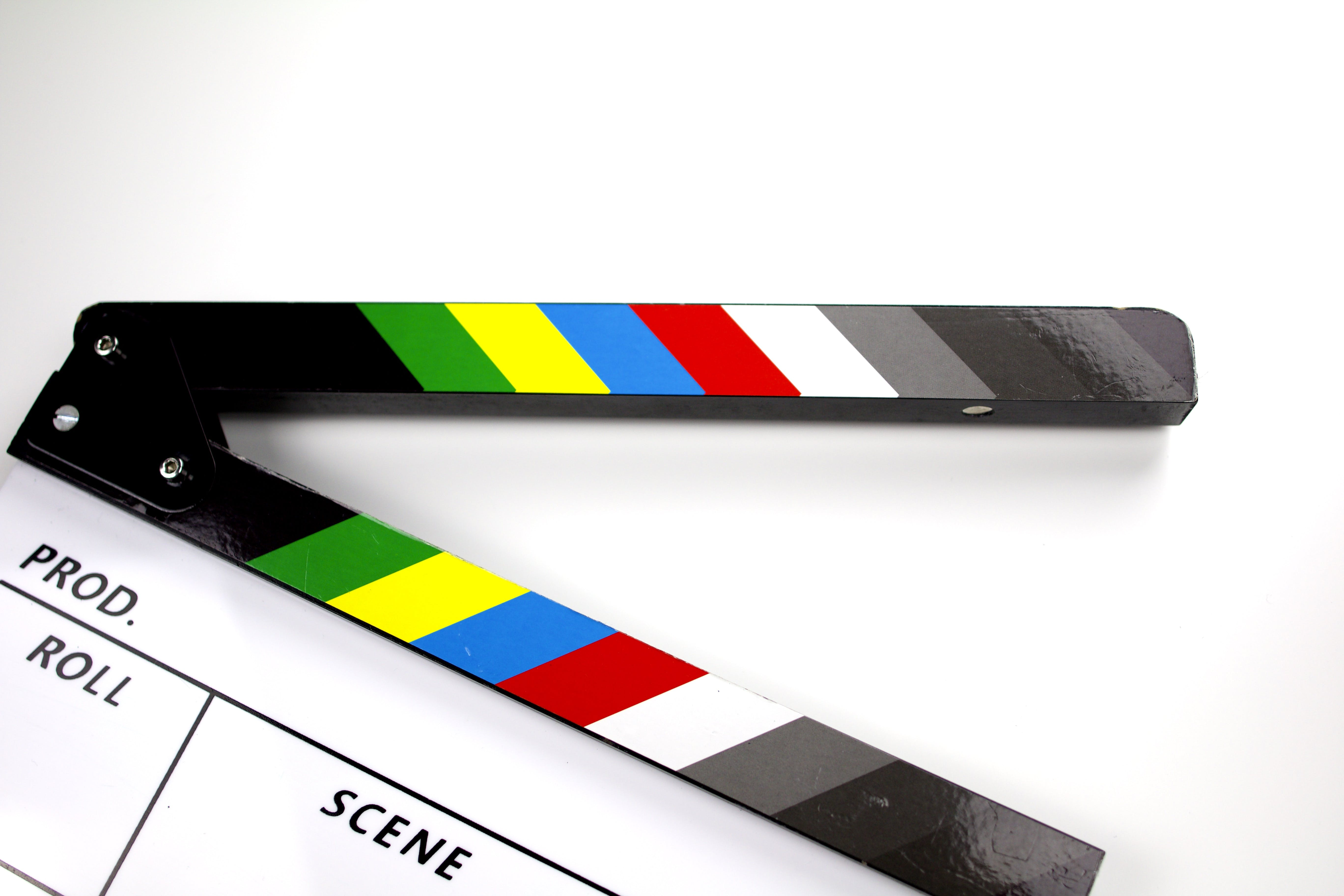 Free stock photo of studio, film, movie, movie clapper