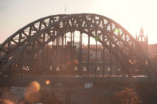 tyne bridge, 건축, 골든 아워, 그런지의 무료 스톡 사진