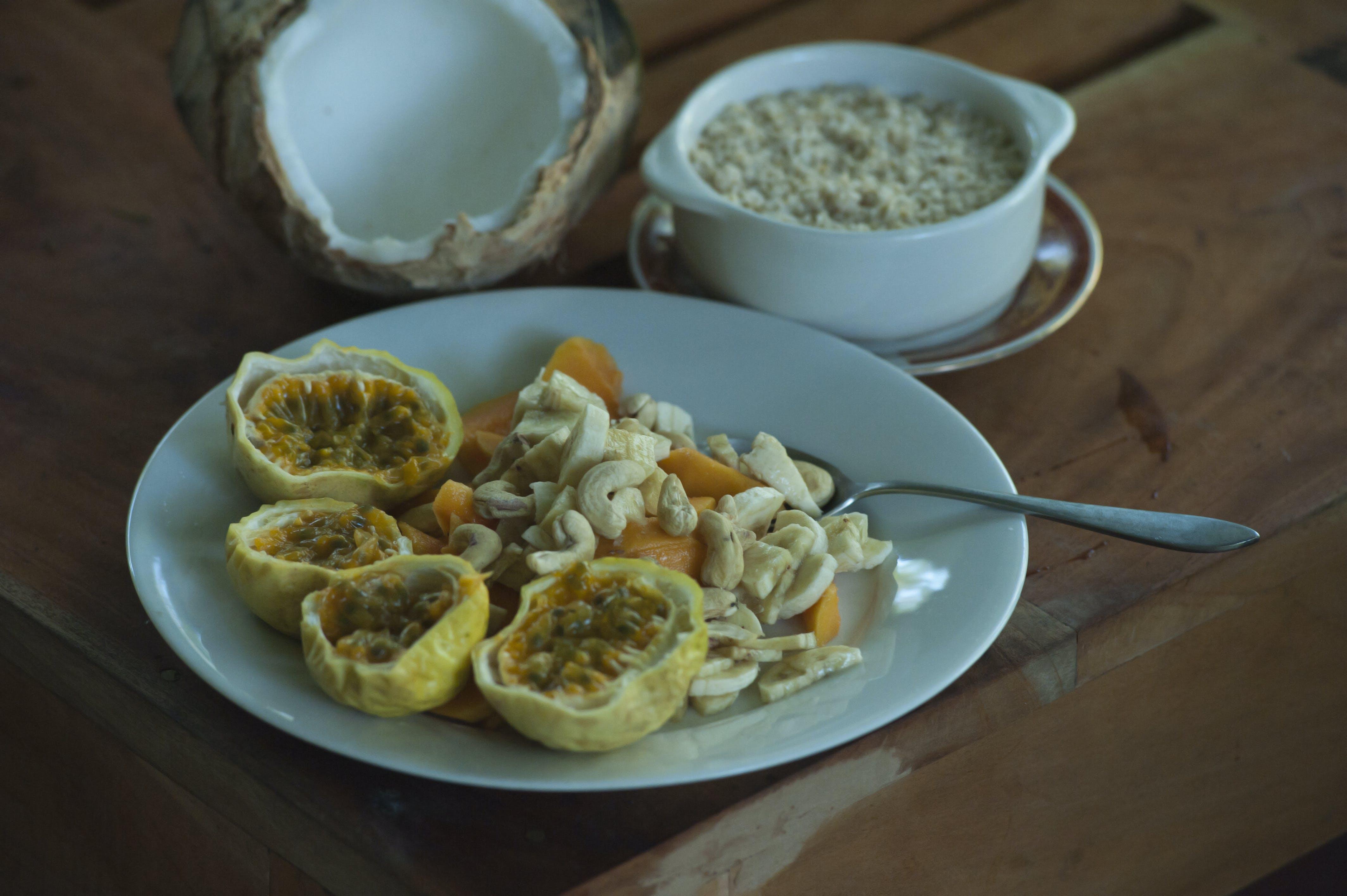 bowl, breakfast, cashew