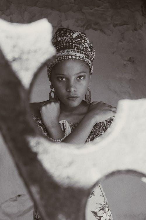 Kostnadsfri bild av afrikansk amerikan kvinna, afrikansk kvinna, ansikte