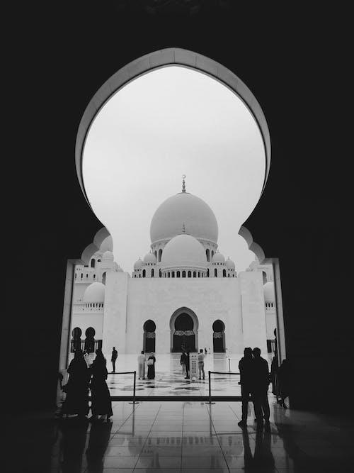 Kostnadsfri bild av b & w, kupol, moské