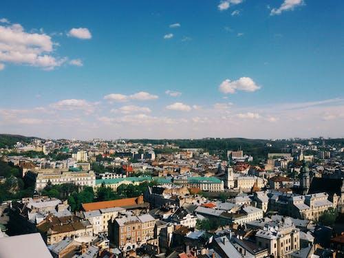 #clouds, #gökyüzü, #lviv, #mavi içeren Ücretsiz stok fotoğraf
