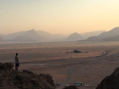 골짜기, 사막, 산의 무료 스톡 사진