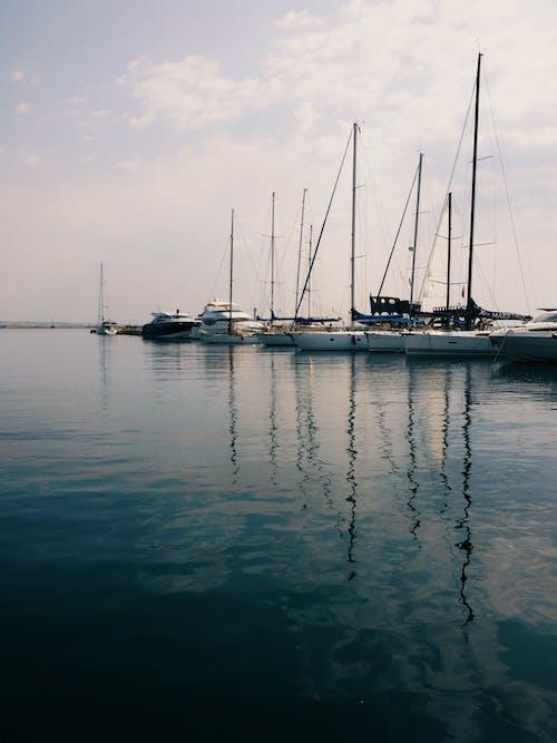 #deniz, #gökyüzü, #liman, #rıhtım içeren Ücretsiz stok fotoğraf