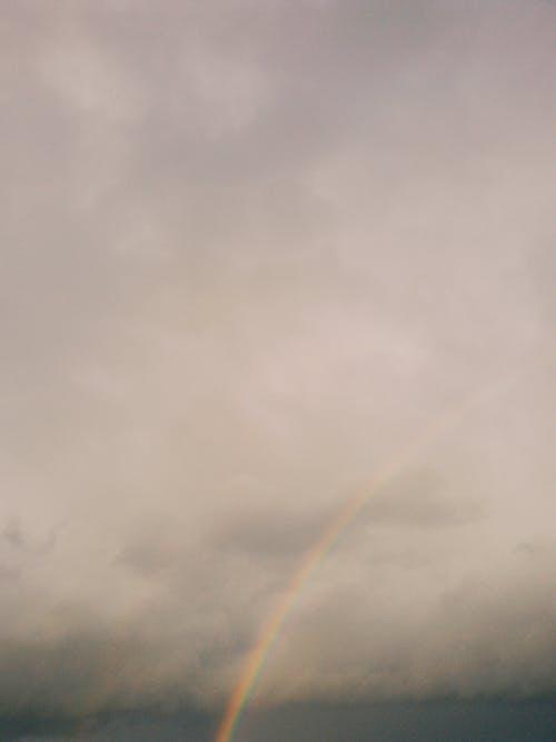 #gökkuşağı, #gökyüzü, #güzellik, #renkler içeren Ücretsiz stok fotoğraf