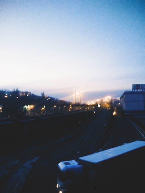 #akşam, #gökyüzü, #köprü, #light içeren Ücretsiz stok fotoğraf