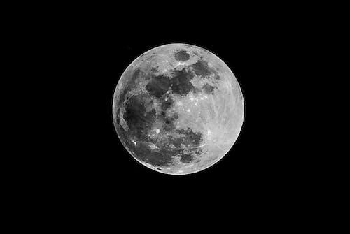 Gratis lagerfoto af fuldmåne