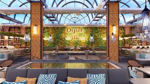 dizayn, iç, kılmak, lokantalar içeren Ücretsiz stok fotoğraf