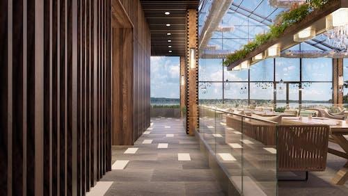 Foto stok gratis Arsitektur, Desain, kemewahan, lounge