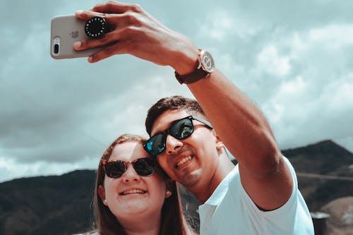 Δωρεάν στοκ φωτογραφιών με selfie, αγάπη, αγαπητό ζευγάρι, ερωτική ιστορία