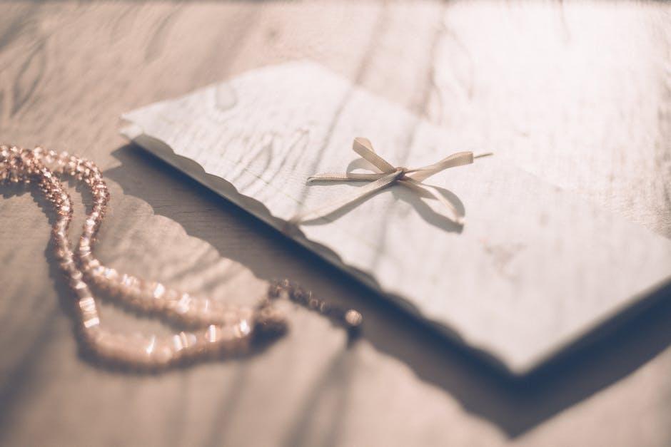 Close-up of Invitation Card