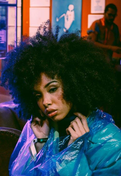 Gratis stockfoto met afro haar, blauw, Brazilië, bruin haar