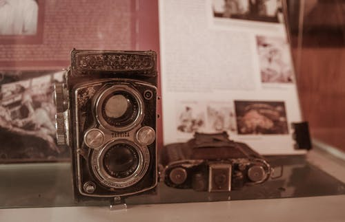 Free stock photo of vintage camera