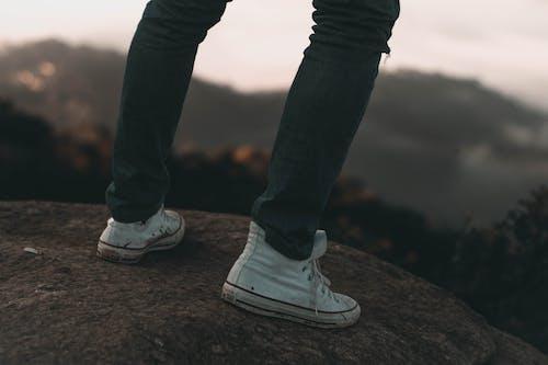 Základová fotografie zdarma na téma bokeh, boty, dospělý, focení