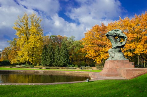 シティ, ショパン, パーク, ポーランドの無料の写真素材