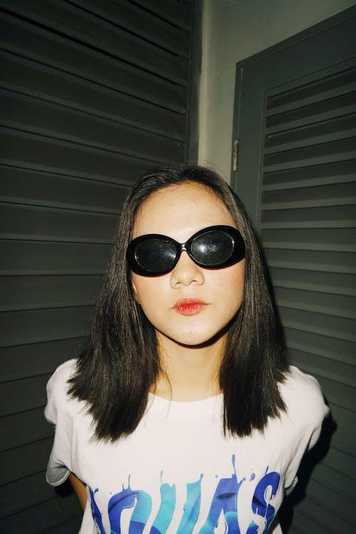 asiatka, asijská holka, brýle