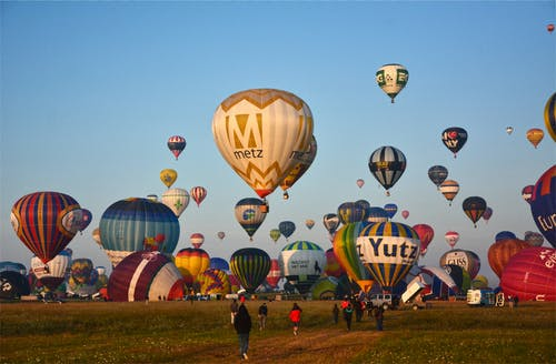 Free stock photo of balloons, france, hot-air balloons, metz