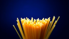 food, pasta, depth of field