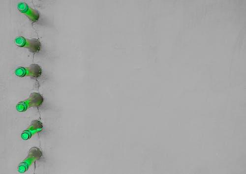 Бесплатное стоковое фото с бутылки, зеленый, перерабатывать, переработка