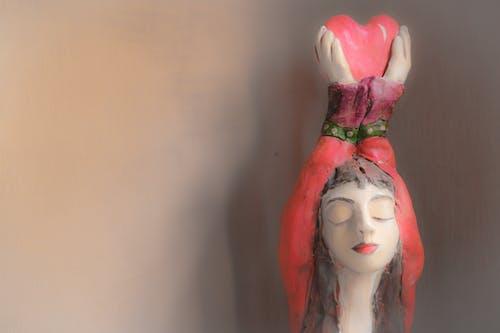 Бесплатное стоковое фото с Ангел, красный, любовь, сердце