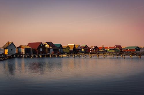 Δωρεάν στοκ φωτογραφιών με naturephoto, αλιεία, διακοπές, δύση ηλίου
