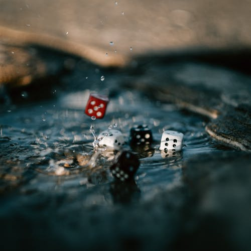 Free stock photo of abstract, dice, game, roll