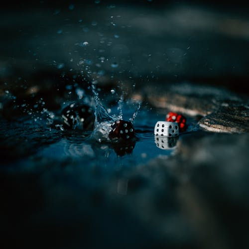 Free stock photo of abstract, abstract background, dice, game