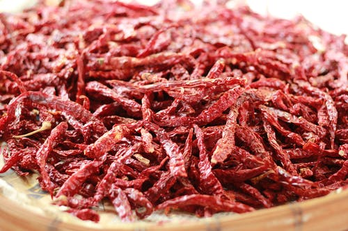 Бесплатное стоковое фото с сухой перец чили