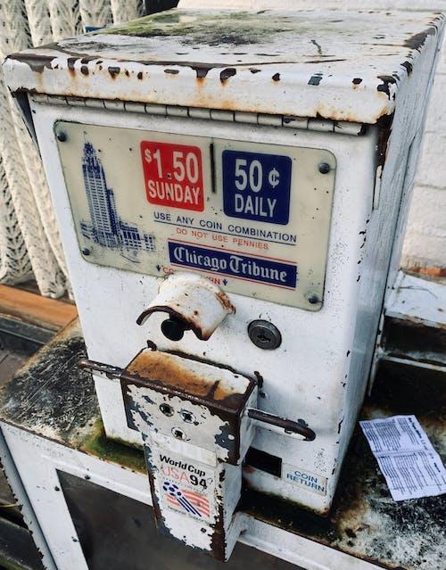 Foto d'estoc gratuïta de decaïment, decaïment urbà, diari, òxid