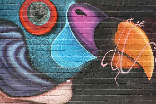 Free stock photo of bright colours, graffiti, wall art