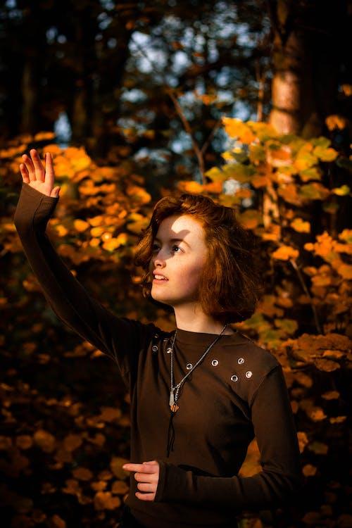 사람, 여성, 초상화, 햇빛의 무료 스톡 사진
