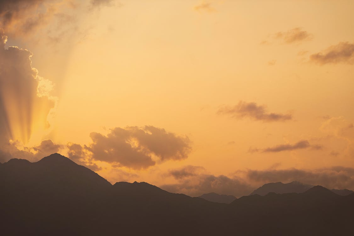 Silhouttes of Mountains