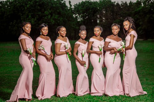 Fotos de stock gratuitas de África, Boda, damas de honor, pre boda