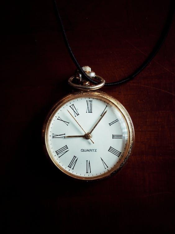 White Pocket Watch